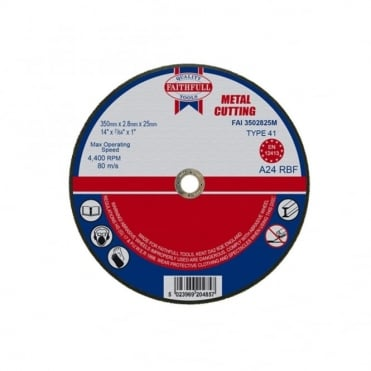 Cut Off Disc for Metal 350 x 2.8 x 25mm
