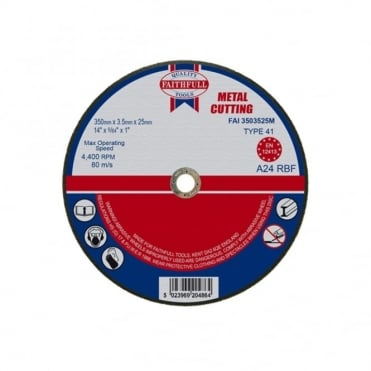 Cut Off Disc for Metal 350 x 3.5 x 25mm