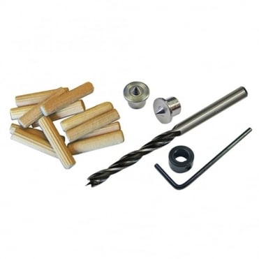 Dowel Kit 8mm Drill & Points