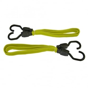Flat Bungee Cord 91cm (36in) Yellow