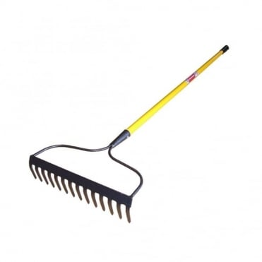 Garden Rake Fibreglass Shaft