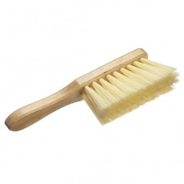 Hand Brush Soft Cream PVC 275mm (11 inch)