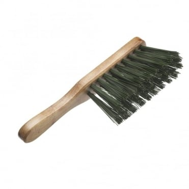 Hand Brush Stiff Green PVC 275mm (11 inch)
