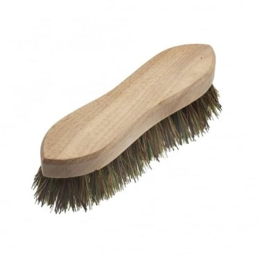 Hand Scrubbing Brush 200mm (8 inch) Unvarnished