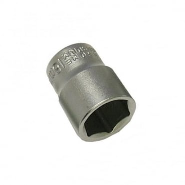 Hexagon Socket Chrome Vanadium 3/8 in Drive 9mm