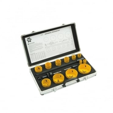 Holesaw Kit 16 Piece Universal 16-76mm