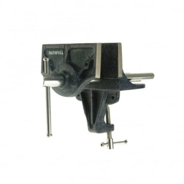 Home Woodwork Vice 150mm (6in) - with Integrated Clam