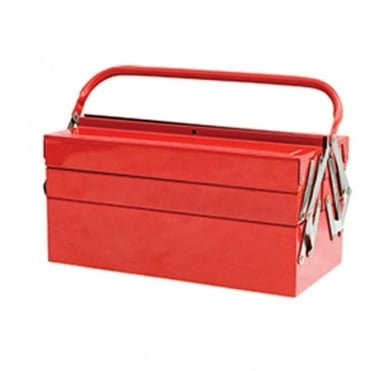 Metal Cantilever Tool Box 40cm (17in) 5 Tray