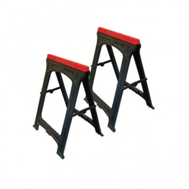 Plastic Trestles (Set 2) Height 82cm x Length 57cm