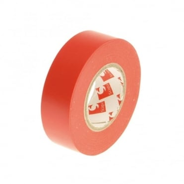 PVC Electrical Tape 19mm x 20m Red