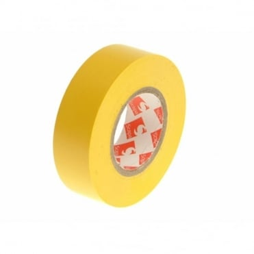 PVC Electrical Tape 19mm x 20m Yellow