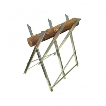 Saw Horse Folding Trestle Galvanised
