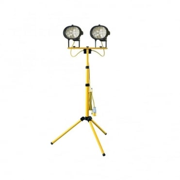 Sitelight Twin Adjustable Stand 1000 Watt 110 Volt