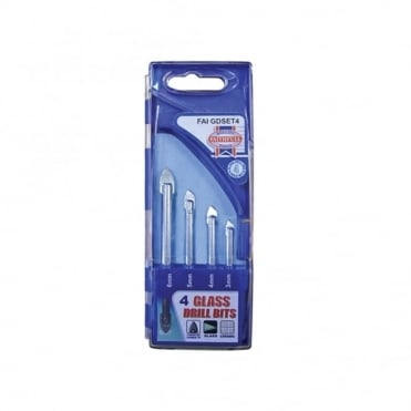 Tile & Glass Drillbit Set of 4 (3-6mm)