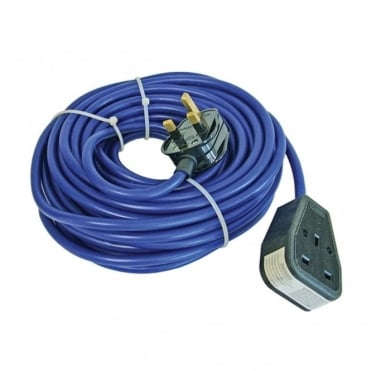Trailing Lead 14 Metre 240 Volt 13 Amp 1.5mm Cable