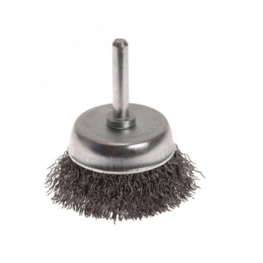 Wire Cup Brush 50 x 6mm Shank 0.30mm
