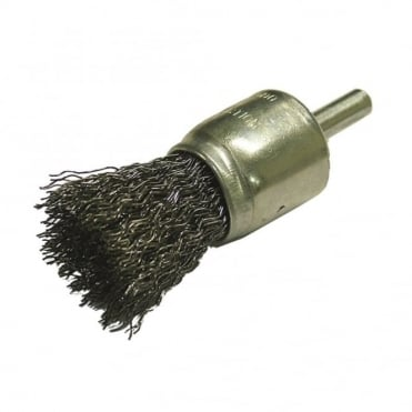 Wire End Brush 25 x 6mm Shank 0.30mm