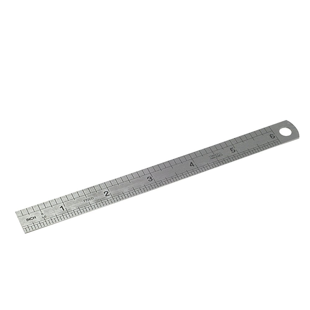706s Stainless Steel Rule 150mm 6in