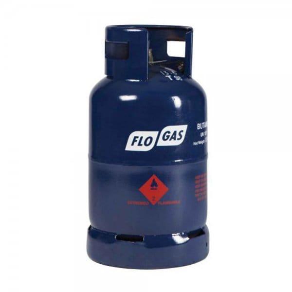 Flogas 13kg Butane Gas Cylinder 20mm Regulator