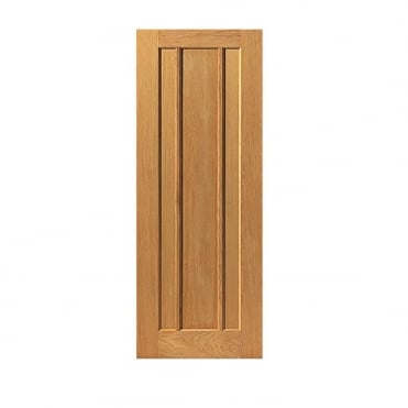River Oak Traditional Eden Door Unfinished - 1981mm Height
