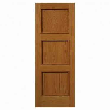 Royale Modern R-03 Oak Fire Door Pre-Finished
