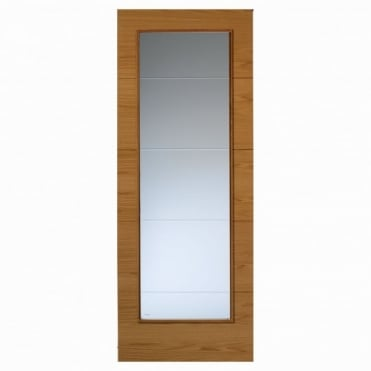 Royale Modern VT5-1VB Oak Door Pre-Finished