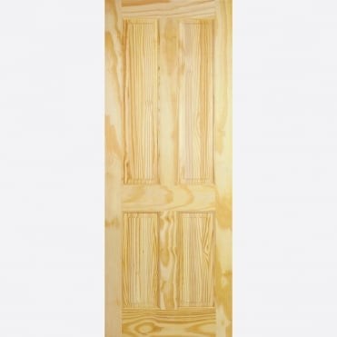 4P Clear Pine Internal Door
