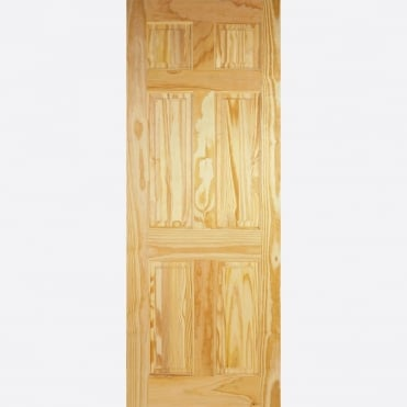 6P Clear Pine Internal Door