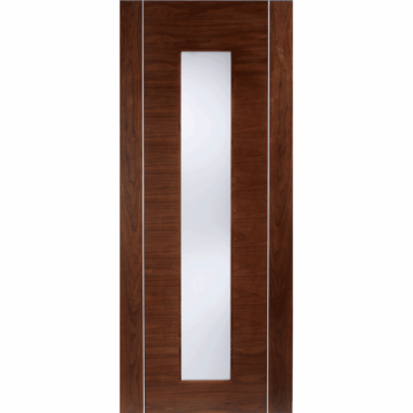 Alcaraz Walnut Glazed Pre-Finished Internal Door
