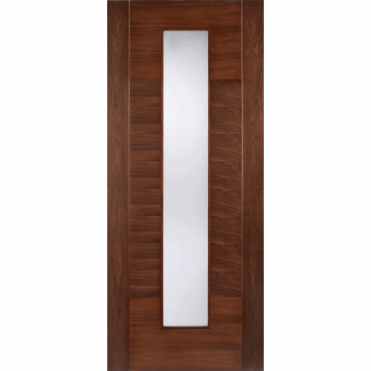 Aragon Walnut Frosted Glazed Pre-Finished Internal Door