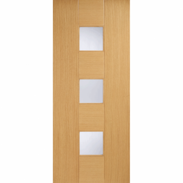 Catalonia Oak Glazed Pre-Finished Internal Door
