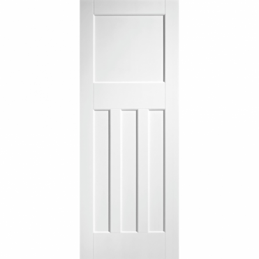 Dx 30'S Style White Primed Internal Fire Door