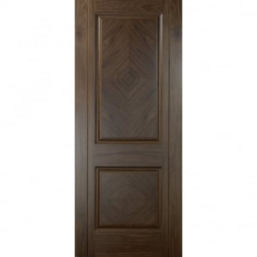 Madrid Walnut 2 Panel Pre-Finished Internal Door