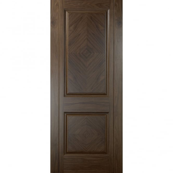 sc 1 st  Beatsons Building Supplies & Madrid Walnut 2 Panel Pre-Finished Internal Fire Door
