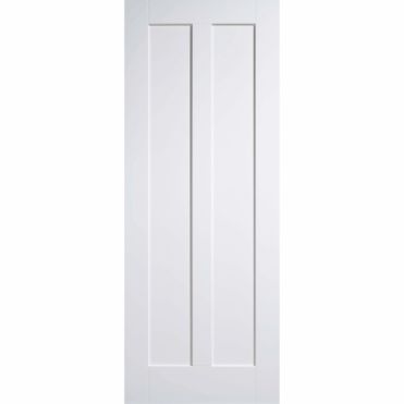 Maine 2 Panel White Primed Internal Fire Door