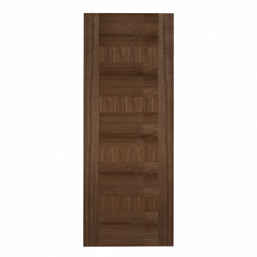 Monaco Walnut Pre-Finished Internal Fire Door