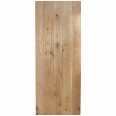 Nostalgia Rustic Solid Oak Ledged Unfinished Internal Door