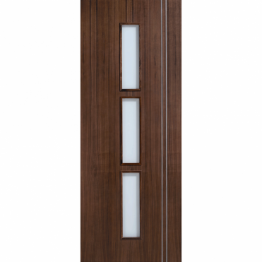 Sierra Walnut Semi Solid Glazed Pre-Finished Internal Door