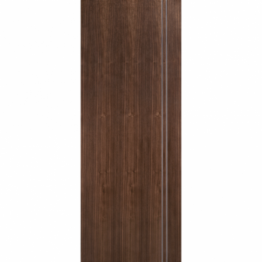 Sierra Walnut Semi Solid Pre-Finished Internal Fire Door