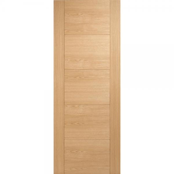 Vancouver Oak Solid Pre Finished Internal Door
