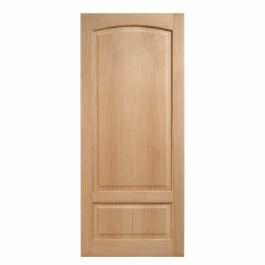 Worthing Oak 2 Panel Solid Unfinished Internal Door
