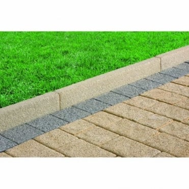 Drivesett Argent Driveway Edging - 915x150x63mm (Pack of 48)