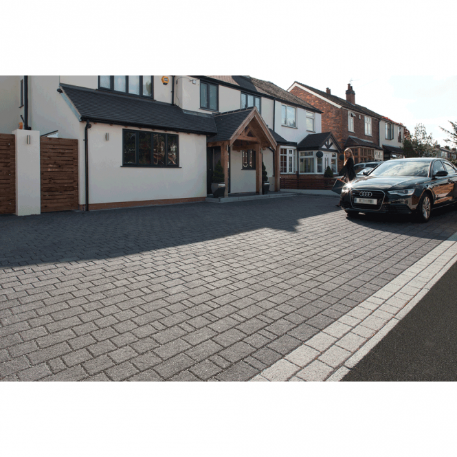 drivesett argent priora block paving project. Beautiful Block Drivesett Argent Priora Permeable Block Paving  806m2 Mixed 3 Size Pack Intended Project I