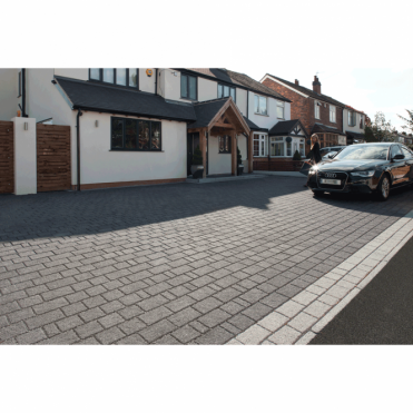 Drivesett Argent Priora Permeable Block Paving - 8.06m2 Mixed 3 Size Pack