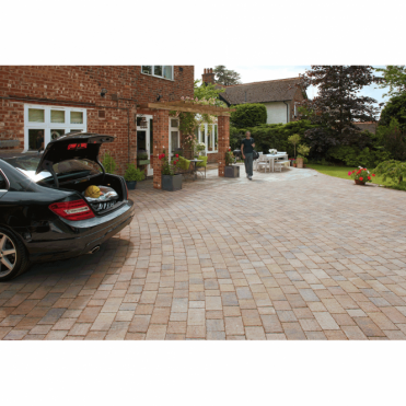 Drivesett Tegula Original 9.73m2 3 Mixed Size Project Pack
