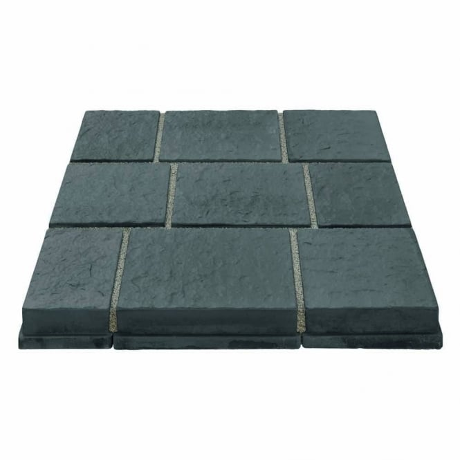 Marshalls Drivesys Flamed Stone Patented Driveway System 5 Size Mixed Pack - Blue Pennant