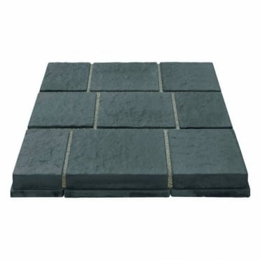 Drivesys Flamed Stone Patented Driveway System 5 Size Mixed Pack - Blue Pennant
