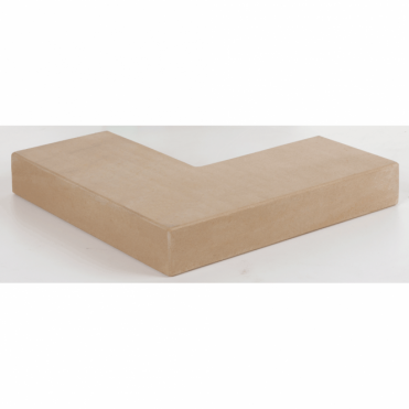 Fairstone Natural Stone Sawn Coping Stones -318/318x136x50 Corner Coping (Pack of 80)