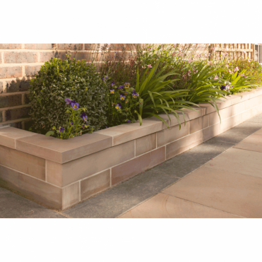Fairstone Sawn Garden Walling - 4m2 4 Mixed Size Project Pack Walling