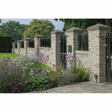 Fairstone Traditional Natural Stone Walling - Pitched Sandstone